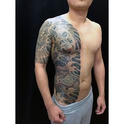 0d66fda89 50 Japanese Flower Tattoo Designs For Men Floral Ink Ideas ...