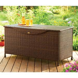 Suncast Deck Box With Seat 50 Gallon by Better Homes And Gardens Outdoor Storage Deck Box
