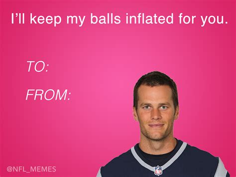 Valentines Day Cards Memes - this year s batch of nfl themed valentines day cards daily snark