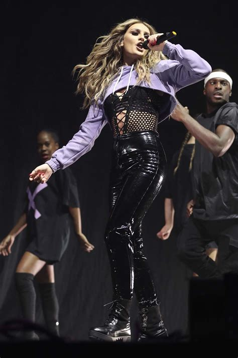 Little Mix performs at Free Radio Live - Leather Celebrities