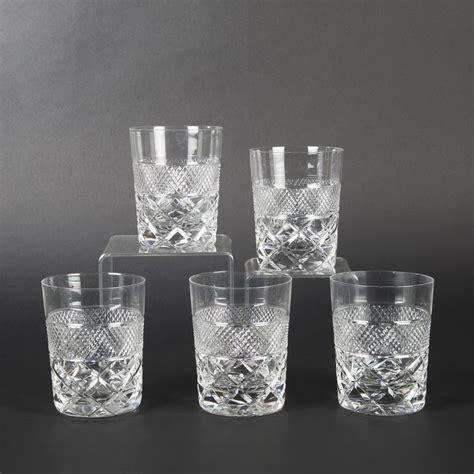 cinq verres 224 whisky en cristal 2014050741 expertissim