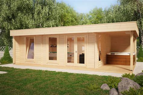 Gartenhaus Mit Bad by Gartenhaus Hansa Lounge Pool Edition 24m 178 8 X 5 M