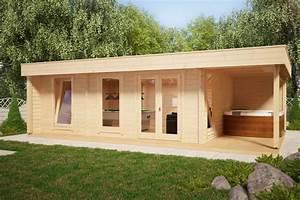 Gartenhaus Mit Lounge : gartenhaus hansa lounge xxl pool edition 24m 8 x 5 m 58mm hansa gartenhaus ~ Indierocktalk.com Haus und Dekorationen