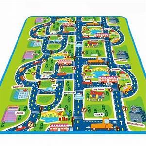 tapis circuit de voiture pour enfant achat vente jeux With tapis enfant circuit voiture