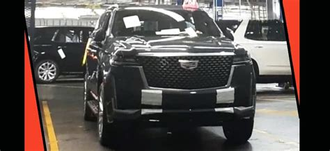 pictures      cadillac escalade leaked