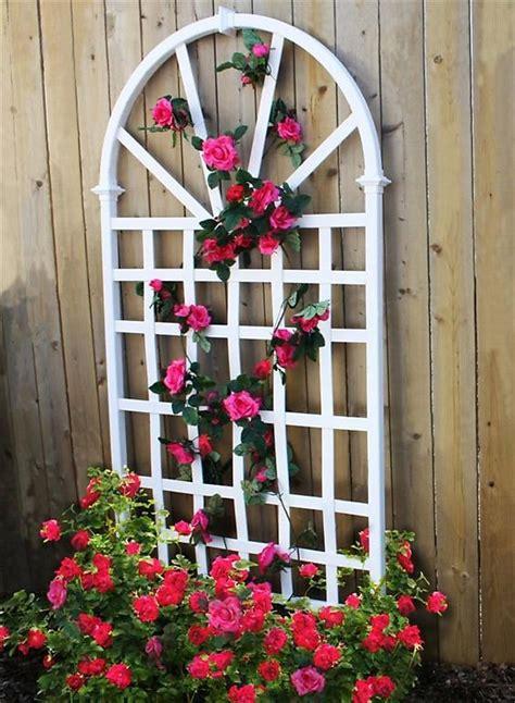 New England Arbors Decorative Garden Flower Plant White
