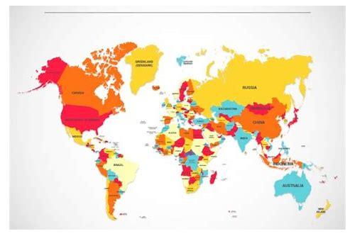 mapa do mundo físico baixar gratuitos