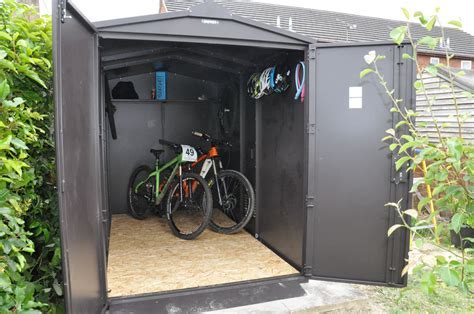 Review: Asgard Six Bicycle Metal Storage Shed   Bikesoup