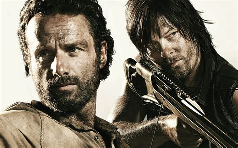 walking dead andrew lincoln rick grimes norman reedus