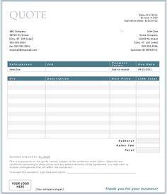 quotation template  vertexcom lin