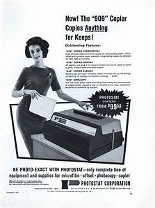 Photostat Or Photo Copying Machine