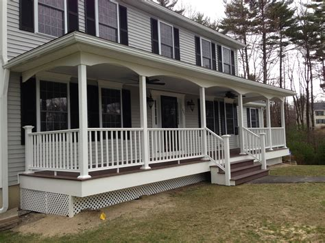ceiling fans for sunrooms manchester nh front porch is complete allen remodeling