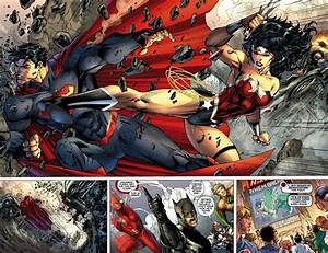 NEW 52 Superman V.S Wonder Woman - Battles - Comic Vine