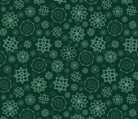 Inspired By Succulent Fabric  Mgdoodlestudio Spoonflower
