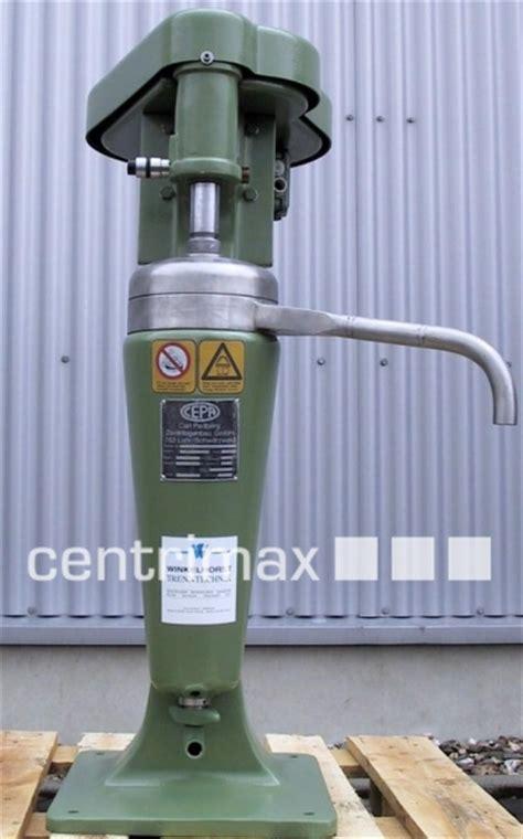carl padberg cepa tubular centrifuges