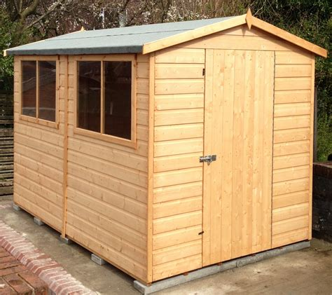 Shire Sheds by Shire Lewis Apex Shed 6 Sizes Map Garden Furnishings