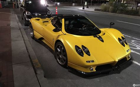 pagani zonda   roadster  november  autogespot