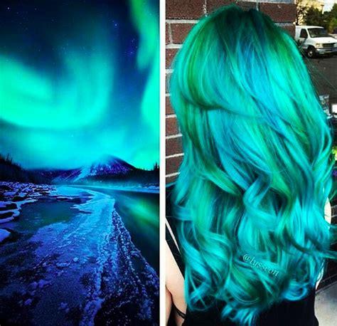 el pelo color galaxia ya es tendencia  es algo tan