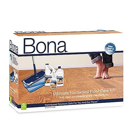 bona ultimate hardwood floor care kit bed bath