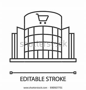 Supermarket Building Clipart Black And White | www ...