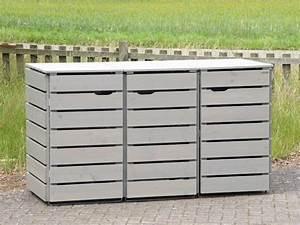 Mülltonnenverkleidung Aus Paletten : 3er m lltonnenbox holz 240 liter in 2019 3er m lltonnenbox m lltonnenverkleidung ~ A.2002-acura-tl-radio.info Haus und Dekorationen