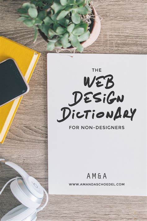 web design terms the web design dictionary a non designer s guide
