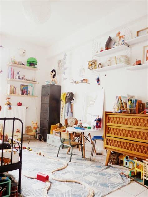 d o vintage chambre chambre d 39 enfant monochrome blanche
