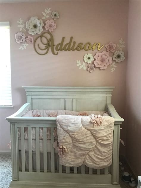 gold nursery ideas  pinterest pink gold