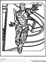 Coloring Avengers Pages Iron Tampa Bay Drawing Printable Lightning Surfboard Cartoon Sheets Tony Stark Ginormasource Coloriage Comics Billionaire Bucs Hulk sketch template