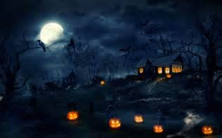Halloween Night Wallpaper HD Desktop