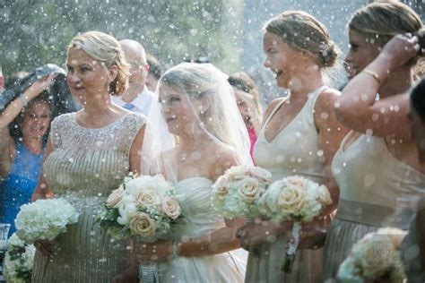 Let It Pour: A Rainy Outdoor Wedding Filled With Love