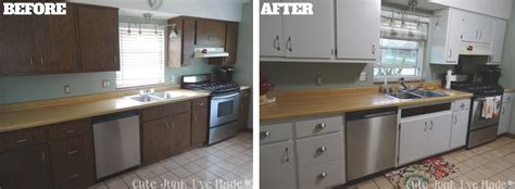 painting laminate cabinets before and after cute junk i 39 ve made how to paint laminate cabinets part