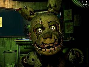 FNaF 3 SpringTrap's jumpscare #2 loop by XxRainbowGoldenXx ...