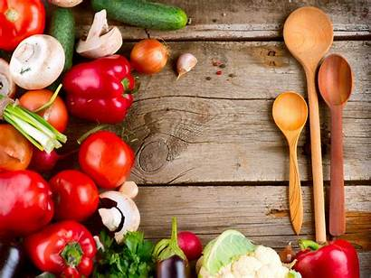 Vegetables Table Recipes Wooden Fuel Fresh Runner