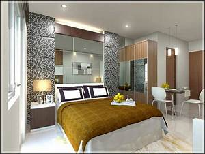 Creating interior design apartment type studio home for Studio type apartment interior design ideas