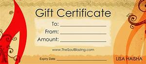 Blank Gift Certificate Template Example Mughals