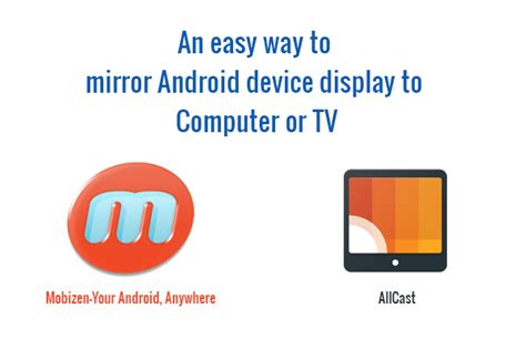 how to mirror your android device to your tv or second screen easy way to mirror android device display to computer