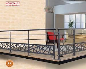Store De Balcon Sans Fixation : garde corps balcons en fer forg et rampes en fer forg ~ Edinachiropracticcenter.com Idées de Décoration