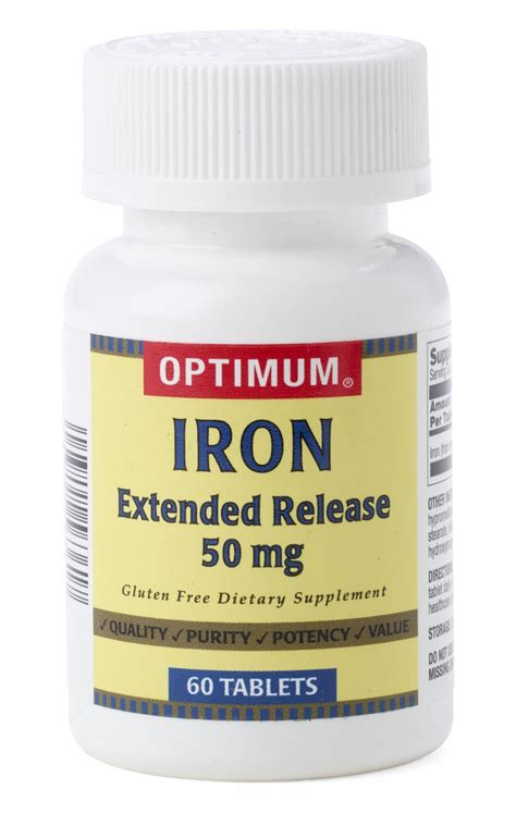 Extended Release Iron Tablets