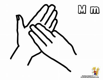 Sign Language British Bsl Letter Alphabet Pages