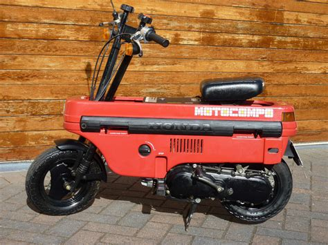1982 Honda Motocompo L Side Ride ? Classic Sport Bikes For