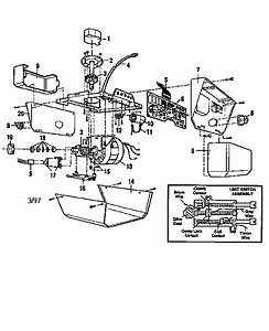Opener Assembly Diagram  U0026 Parts List For Model 13953675srt