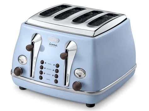 Delonghi Vintage Icona Ctov4003az Toaster Sky Blue