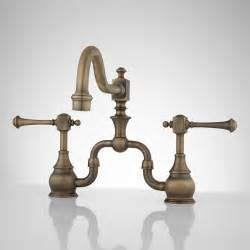 bridge kitchen faucets vintage bridge kitchen faucet lever handles kitchen