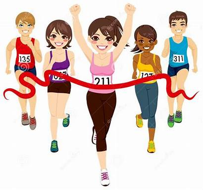 Marathon Run Half Training Running Cartoon Race