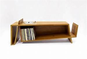 Meuble Pour Vinyle : meuble avec platine vinyle int gr e ~ Teatrodelosmanantiales.com Idées de Décoration