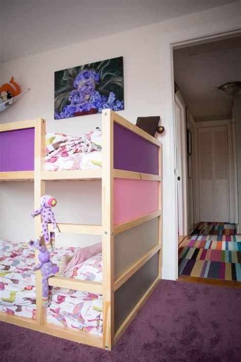 kid friendly diys featuring  ikea kura bed