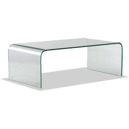 table basse en verre transparent lexy xl achat vente table basse table basse en verre lexy