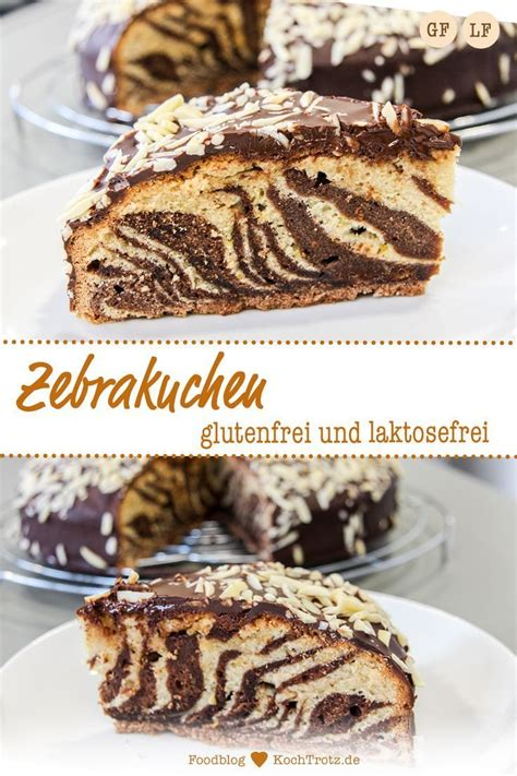 Those that need to radically change their diets may also find they have. Zebra cake - gluten-free and lactose-free - KochTro in ...