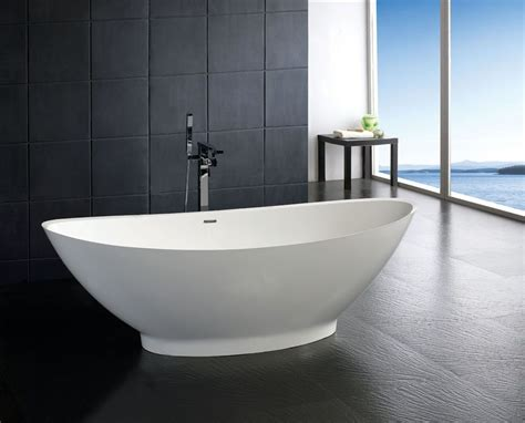 Bath Tubs by Soaker Tubs Free Standing Resin Bathtub